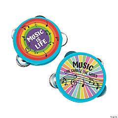 Rainbow Mini Tambourines