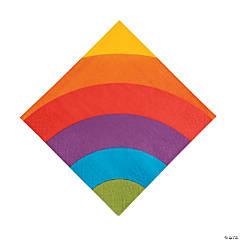Rainbow Party Luncheon Napkins