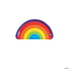 Rainbow Party Paper Dessert Plates