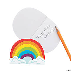 Rainbow-Shaped Notepads