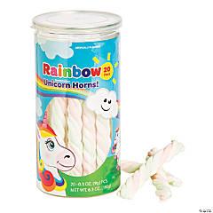 Rainbow Unicorn Theme Marshmallow Twists