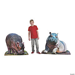 Rainforest VBS Baby Hippo Stand-Ups