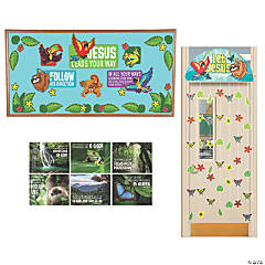 Rainforest VBS Small Group Wall Decorating Kit