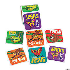 Rainforest VBS Stickers