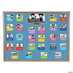 Reading Comprehension & Skills Mini Bulletin Board Set