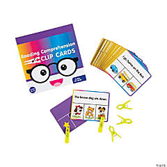 Reading Comprehension Clip Cards