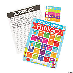 Reading Genres Bingo