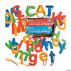 Ready2Learn™ Lacing Letters, Upper and Lower Case Combo