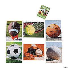 Realistic Sports Puzzles