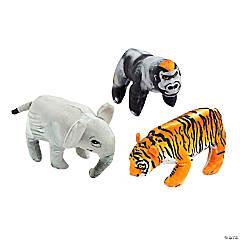 Realistic Stuffed Safari Animals