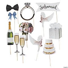 Realistic Wedding Photo Stick Props