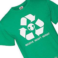Receive Regift Repeat Adult's T-Shirt - Small
