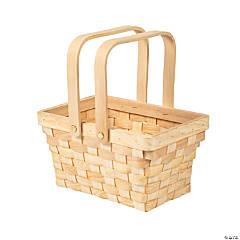 Rectangular Basket with Top Handles