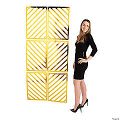 Rectangular Geometric Backdrop