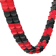 Red & Black Garland