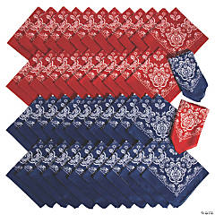 Red & Blue Bandana Assortment