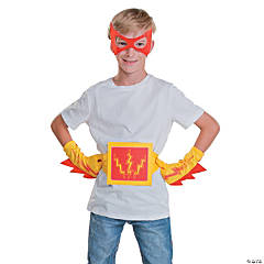 Red & Yellow Superhero Accessories