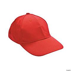 Red Baseball Caps