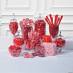 Red Candy Buffet Supplies