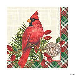 Red Cardinal Christmas Luncheon Napkins