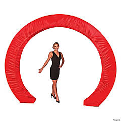 Red Circle Arch Slip