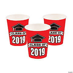 Red Class of 2019 Cups
