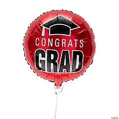 Red Congrats Grad 18