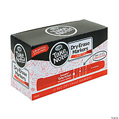 Red Crayola® Take Note™ Dry-Erase Markers - 12 Pc.