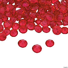 Red Crystals - 4mm