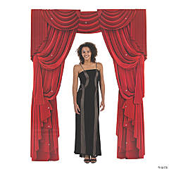 Red Curtain Archway