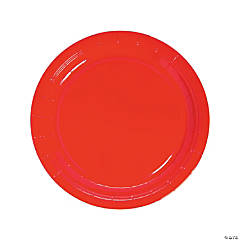 Red Dinner Plates - 250 Pc.