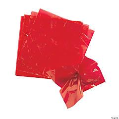 Red Float Pomps