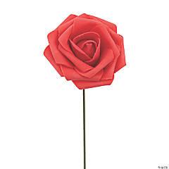 Red Foam Flowers
