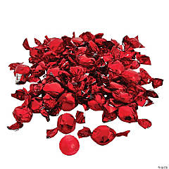 Red Foil-Wrapped Hard Candy