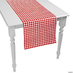 Red Gingham Table Runner