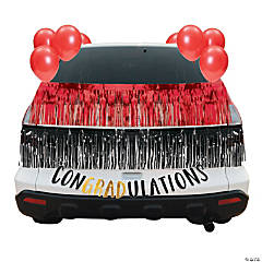 Red Graduation Car Parade Decorating Kit