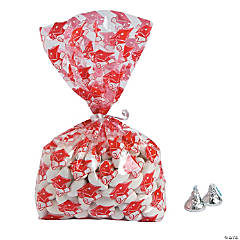 Red Graduation Cellophane Bags