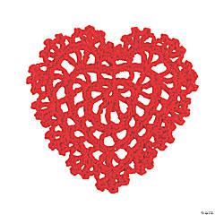 Red Heart Crochet Doilies