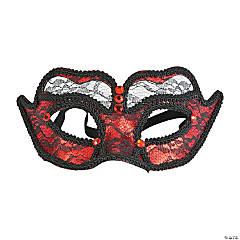 Red Lace Masks