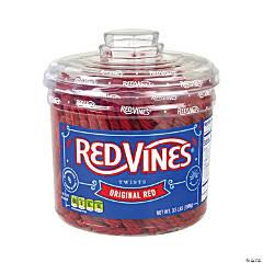 Red Licorice Twists Jar Original Red, 3.5 lb