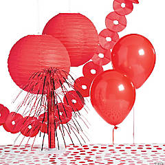 Red Party Decorating Kit