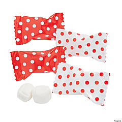 Red Polka Dot Buttermints