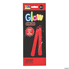 Red Preferred Glow Sticks - 2 Pc.