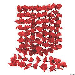 Red Rose Leis
