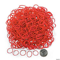 Red Rubber Fun Loops Refill
