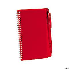 Red Spiral Notebook & Pen Sets