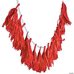Red Tassel Garland