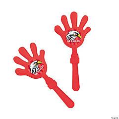 Red Team Spirit Custom Photo Hand Clappers