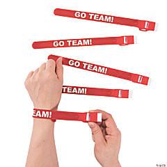 Red Team Spirit Whistle Slap Bracelets