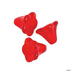 Red Tulip Beads - 9mm
